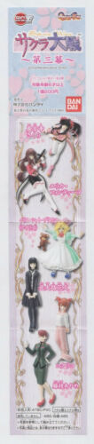 "NEW Bandai ""Sakura Wars vol.3""  HGIF Gashapon Complete 6 pc.Set   *USA SELLER*"