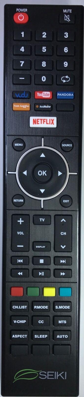 SEIKI Smart Tv Remote Netflix Vudu Youtube Pandora Se32hy19t