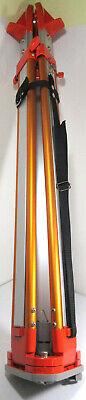 Aluminum Sokkia Heavy Duty Gps Surveying Leveling Tripod Stand Orange