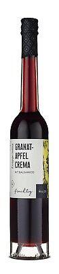Granada Crema Con Balsamico - Afrutado - Wajos Gourmet 100ML - Vegan