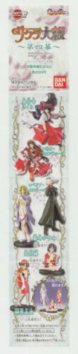 "NEW Bandai ""Sakura Wars"" HGIF Gashapon Complete 6 pc.Set   *USA SELLER*"