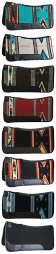 "Weaver Contoured Single Weave Felt Saddle Pad 31"" x 32"" - 8 Colors Available NEW"