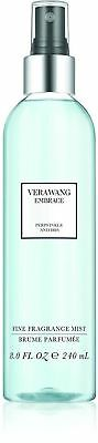 (VERA WANG Embrace PERIWINKLE & IRIS Perfume BODY MIST Spray 8oz Womens NeW)