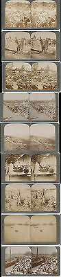 Großbritannien  United Kingdom England  WW1 1900  Südafrika 9x Stereofotografie