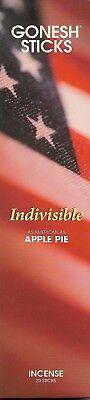 Pie Incense - GONESH INCENSE STICKS INDIVISIBLE SCENT APPLE PIE 20 STICKS PER PACK USA