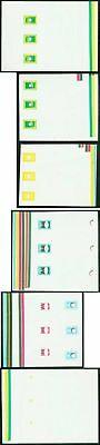 Jordan 1981 progressive MASTER PROOF COMPOSITE SHEETS