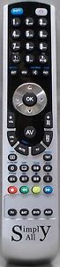 New Sony TRINITRON Simply-All Remote Control Replacement