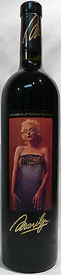 1998 Marilyn Cabernet Monroe Napa Valley Red Wine Nova Wines  750 ml Monroe