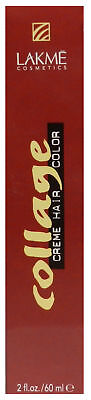 Lakme Collage Creme Hair Color 5/17 Blue Ash Light Brown 2 Ounce for sale  Shipping to India