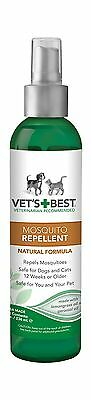 Vet's Best Natural Mosquito Repellent for Dogs and Cats 8 oz US... Free Shipping