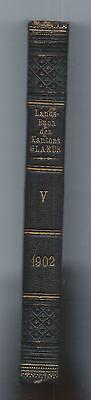 Landsbuch des Kantons Glarus / Schweiz 1902 - 5.Band  - Helvetica