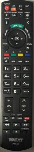 New Panasonic Tv Blu-ray Player Universal Remote By Usarmt-no Programming Needed