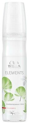 Spray Leave In Conditioner (Wella Elements Leave in Spray Conditioner 150ml)