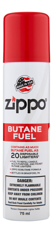 Zippo Butane Fuel 75 ml. Lighter Fluid