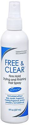 Free - Clear Styling - Finishing Hair Spray Firm Hold 8 oz
