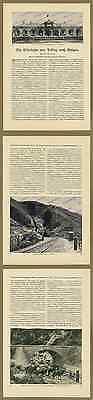 o. Fotobericht China Bauwesen Eisenbahn Peking – Kalgan Zhangjiakou Bahnhof 1912