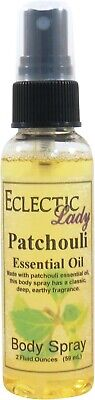 Patchouli Essential Oil Body -