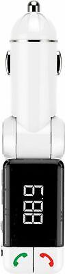 - Bracketron - Roadtripper Car Audio Bluetooth FM Transmitter - WHITE #CF5