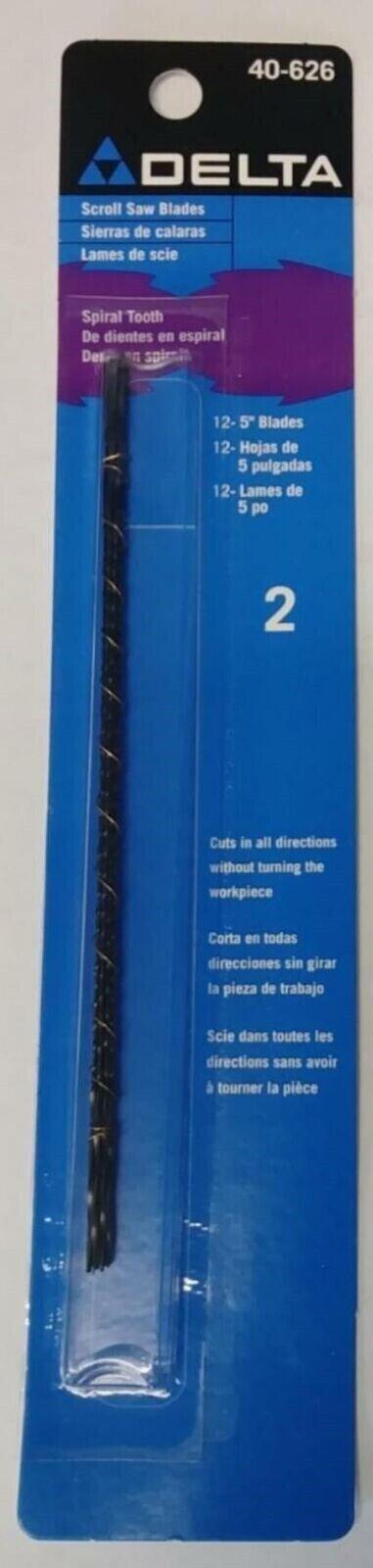 DELTA 40-626 5-Inch Scroll Saw Blade 41 Teeth per Inch