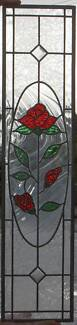 Large stained glass 1035 x 240mm