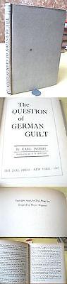 The QUESTION OF GERMAN GUILT,1947,Karl (Karl Jaspers The Question Of German Guilt)
