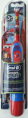 Elektrische Zahnbürste Braun Oral B  Stages Power  Kinder 3Jahre Kids Batterie