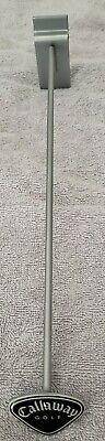 19 Pcs Callaway Golf Slat Wall Hooks 12 New