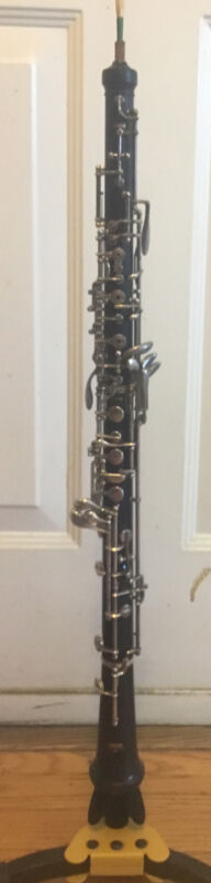 Yamaha YOB-411 intermediate Wooden oboe Instrument with case