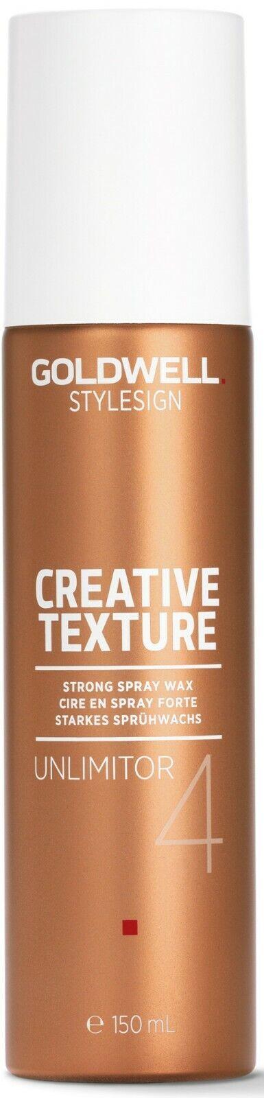 Goldwell Style Sign Creative Texture Unlimitor Sprüh Haarwachs 150 ml