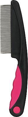 23120- Trixie Metal Plastic Handle Pet Cat Dust - Flea - Nit Comb