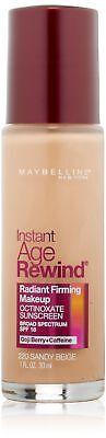 Maybelline New York Instant Age Rewind Radiant Firming Makeup, Sandy Beige 22...