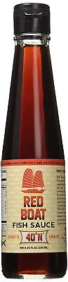 Red Boat Vietnamese Extra Virgin Fish Sauce Bottle, 8.45 Ounce (250ml)