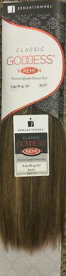 Goddess Remi Yaki Weaving - Sensationnel 100% Human hair for Weaving GODDESS CLASSIC REMI YAKI (STRAIGHT)
