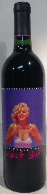 1993 Marilyn Merlot Monroe Napa Valley Red Wine Nova 750 ml