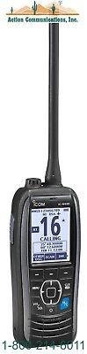 New Icom M93d Vhf 5w Ipx7 Marine Handheld Radio