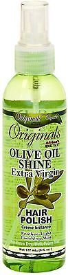 Africa's Best Organics Olive Oil Shine Extra Virgin Hair Polish 6 (Best Hair Oil Sprays)