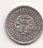 1943 Three Pence