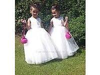 Bridesmaid Dresses age 9 & 6