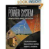 Power System Analysis and Design