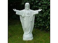 Beautiful large Sacred Heart Statue