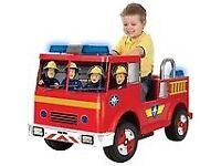 Fireman Sam Ride on Fire Engine