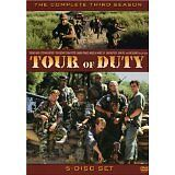 TOUR OF DUTY THE COMPLETE THIRD SEASON ( 5 DISC BOX SET )