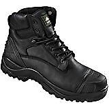 WORKING BOOTS STEEL TOE CAPPED BLACK