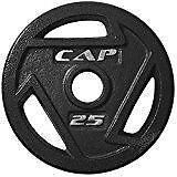 New, CAP Barbell Olympic Grip Plate - 25 lbs (open box) MSRP $90