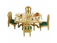Sylvanian Families Dining Room Set - Bargain £10