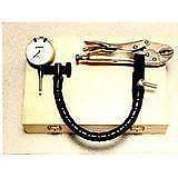 Disc Rotor Ball Joint Gauge Set in Wood Case New (Central Tools)
