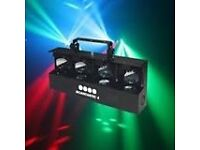 Brand new Scantastic 4 disco lights