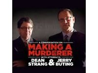 A Conversation With Dean Strang & Jerry Buting O2 Academy Glasgow, Glasgow. Monday, 24 Oct 2016