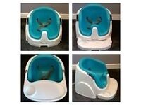 Ingenuity 2-in-1 Baby Booster seat (Aqua Blue)