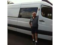 Paul's Removals and Man and Van Service, based in Bournemouth but distance no object.